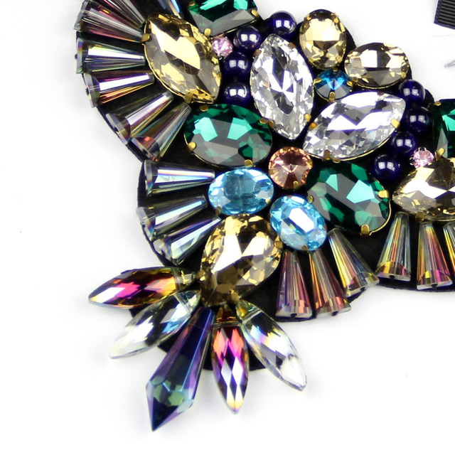 Women's Designer Crystal Statement Necklace