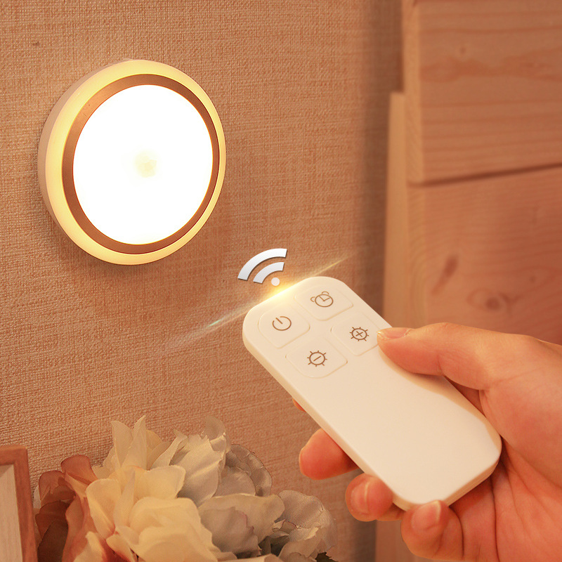 Smart Home LED Remote control/Touch Hand Scanning Sensor Light Touching Dimming Night Lights Cabinet Lights Bedside Emergency touching led usb charging bedside night light