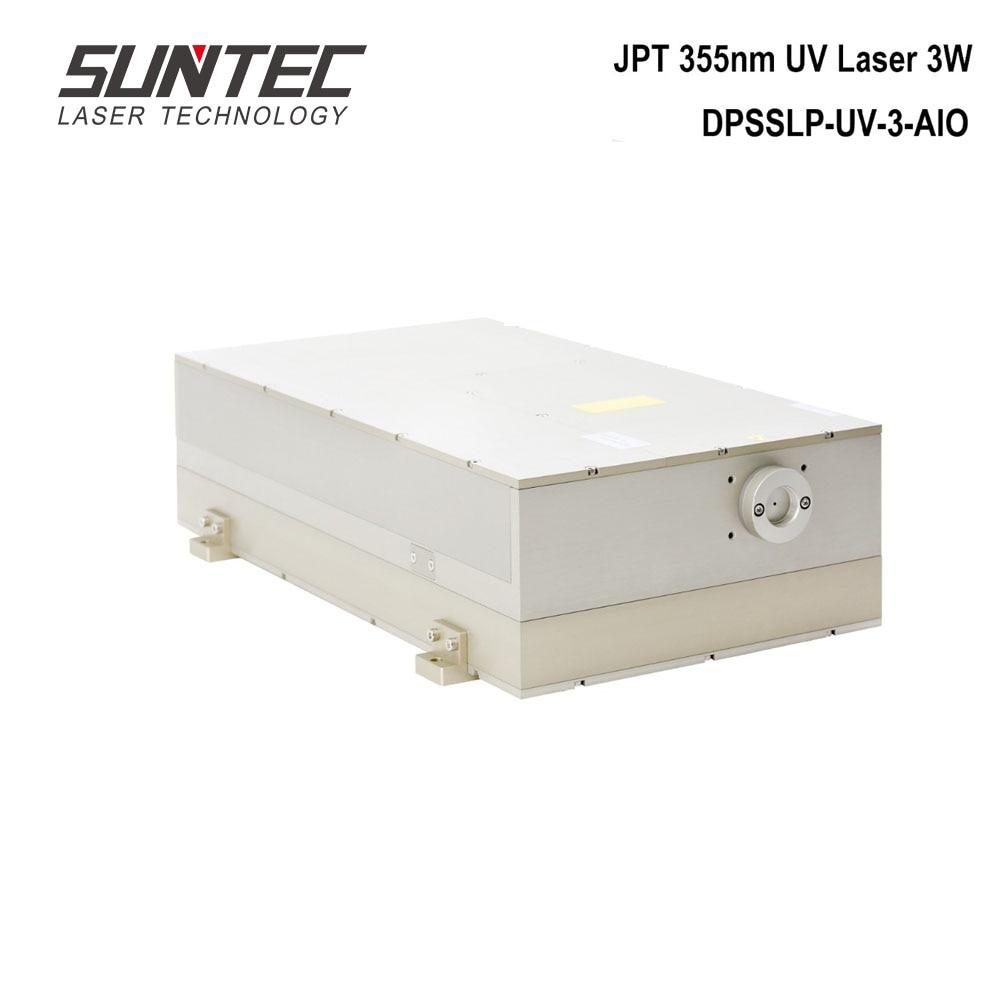 Suntec JPT 355nm UV Laser 3W Module UV Laser Source Generator Solid State Water Cooling For UV Laser DPSSLP-UV-3-AIO