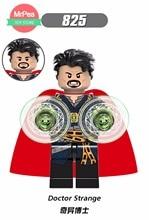 Voor lego's Marvel's Superhero avengers: Dr. Strange Captain America Wolverine God of thunder Bouwstenen Speelgoedfiguren
