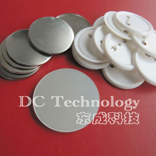 200sets ( 56mm) blank pin button badge material parts of , factory direct sale free shipping 3 75mm 200sets plastic pin badge material blank button parts tin badge components