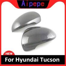 цена на Car Styling Chrome Rear View Door Side Mirror Cover Trim Overlay Molding Garnish Decoration For Hyundai Tucson 2016 2017 2018