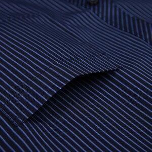 Image 5 - Novo 8xl plus size grande manga longa dos homens não ferro vestido camisa masculina social listrado camisas fácil cuidado oversized camisa