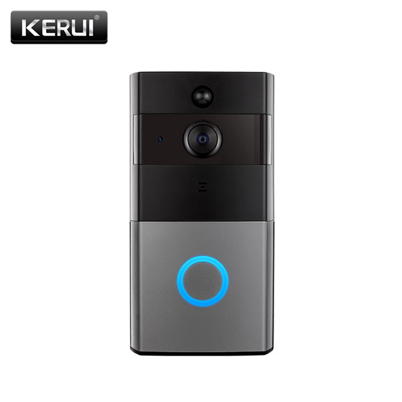 KERUI Security Video Doorbell battery Phone WiFi 1080P Door Bell Camera TwoWay Audio Night Vision Wireless Intercom video porter(China)