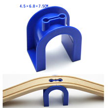 p025 Multifunctional tunnel cave Thomas compatible wooden train track suitable wooden Thomas game scene essential accessory