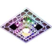 3W 5W Aisle LED Ceiling Lamp Living Room Crystal Corridor Lights Luces de techo