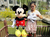 Free Shipping 1pcs 70cm Stuffed Mickey Mouse Stuffed Animal Toys Mickey Mouse Plush Toys For Kids