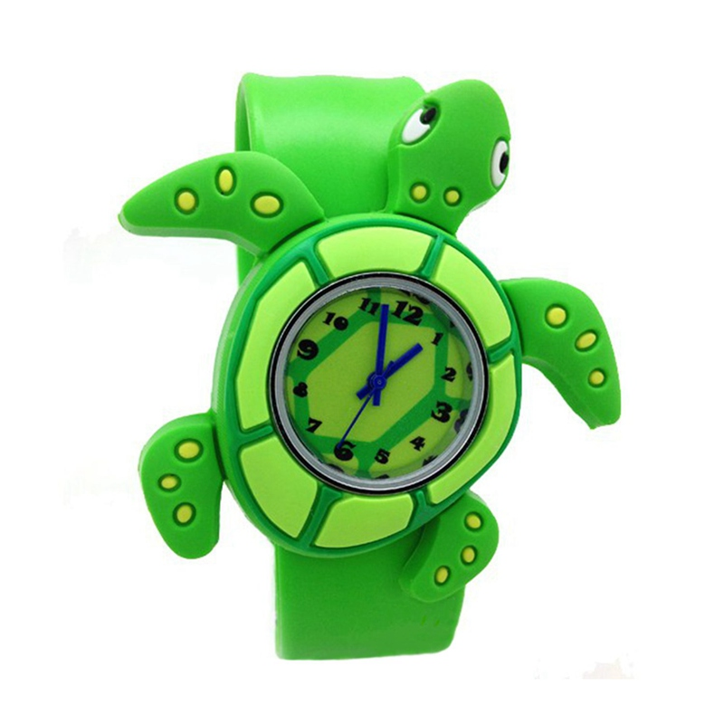 Children's Watches Cartoon Kids Wrist Baby Watch Clock Quartz Watches for Gifts Relogio Montre Turtle