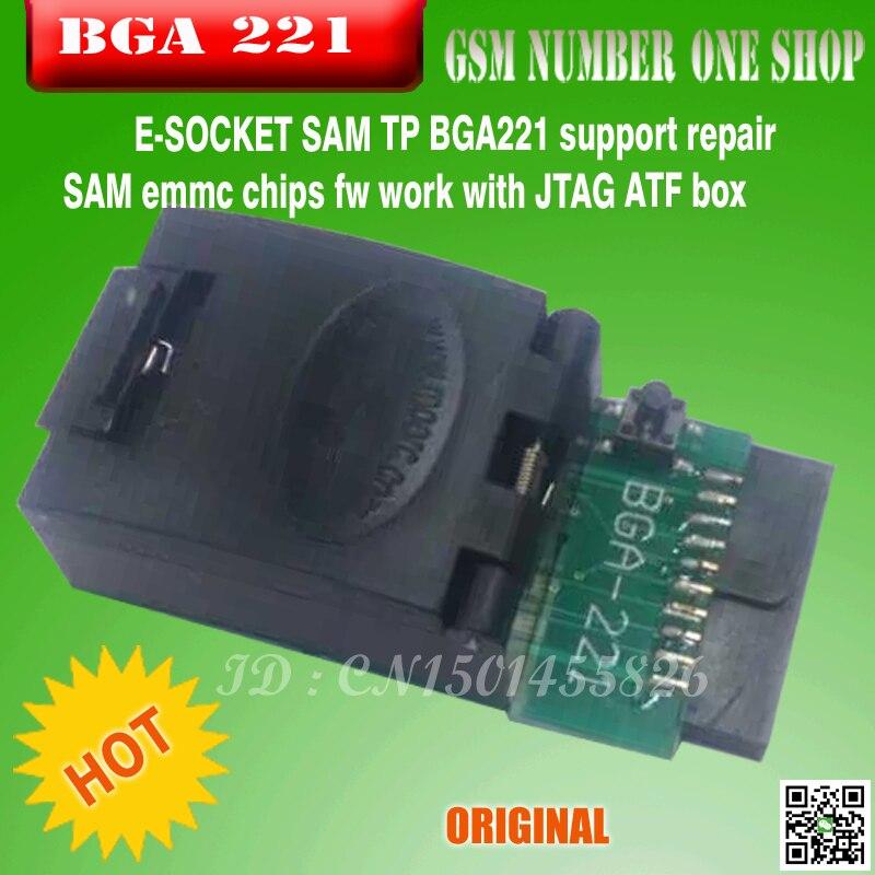 bilder für 2017 die Neueste Version 100% original GPG EMMC BGA Adapter 221 Für GPG EMMC BOX j-umbau kasten-freies verschiffen