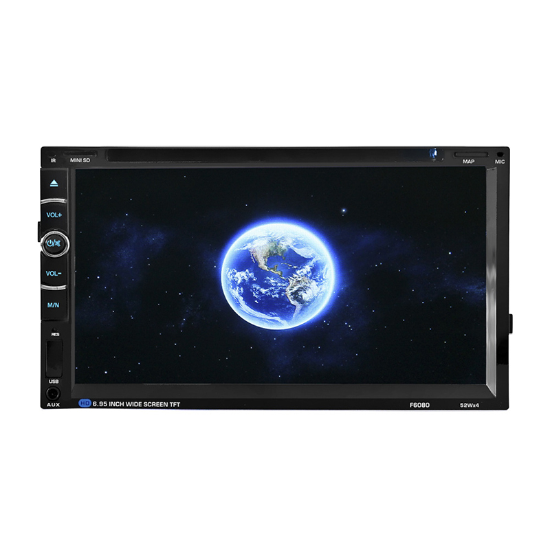 ENKLOV 7 inch Universal HD Bluetooth Car DVD Player 2 Din CD Reversing Priority For Volkswagen/Ford fiesta etc DVD Automotivo