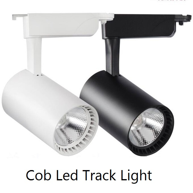 Cob led track light 10w 20w 30w aluminum ceiling rail track lighting cob led track light 10w 20w 30w aluminum ceiling rail track lighting spot rail spotlights replace mozeypictures Choice Image
