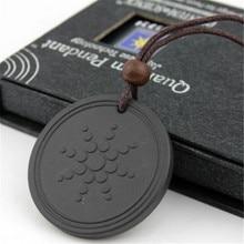 Мужские и женские ювелирные изделия кулон Quantum Pendant ожерелье с положительной энергетикой кулон лава энергия отрицательных ионов Ожерелье Подвески Ювелирные изделия Подарки