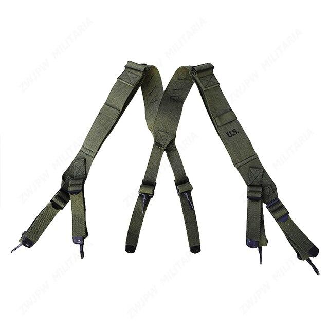 WW2 KOREAN WAR VIETNAM US ARMY M1945 SUSPENDER X STRAPS-US/50456