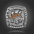 Hot Selling 2015 2016 Denver Broncos Super Bowl Ring Vintage Men Jewelry Sports Replica Ring Championship Ring For Fans J02127
