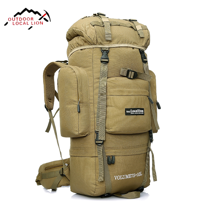 LOCAL LION 85L Tactical Backpack Military Bag Men Military Backpacks Molle Mountainteering Bag Army Climbing Waterproof