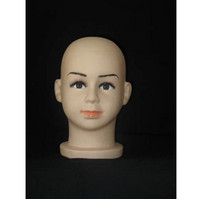 New Style Baby Girl/Boy Mannequin Head PVC for hat,wig display