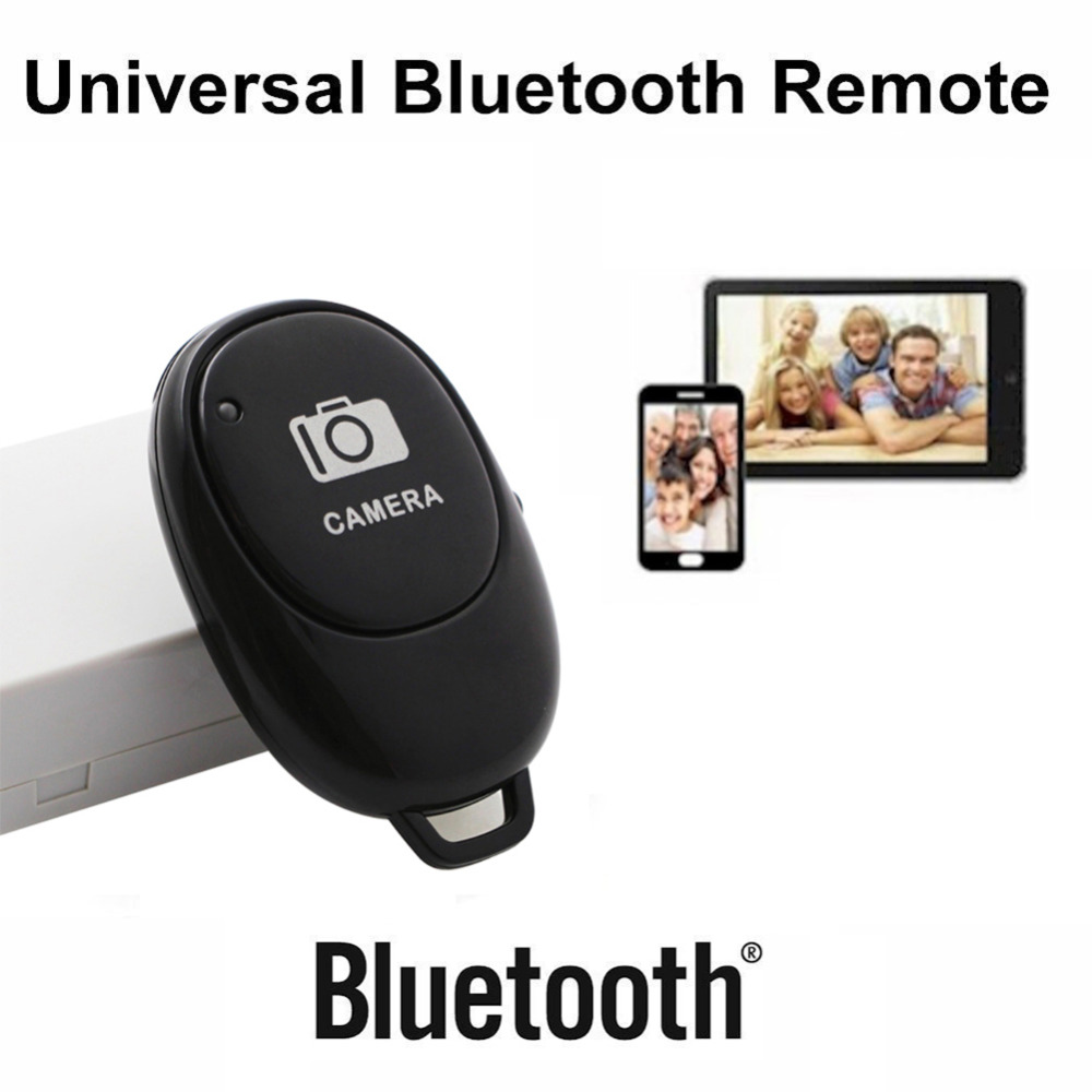 Bluetooth Remote Control Button Wireless Controller Self-Timer Camera Stick Shutter Release Phone Monopod Selfie for ios