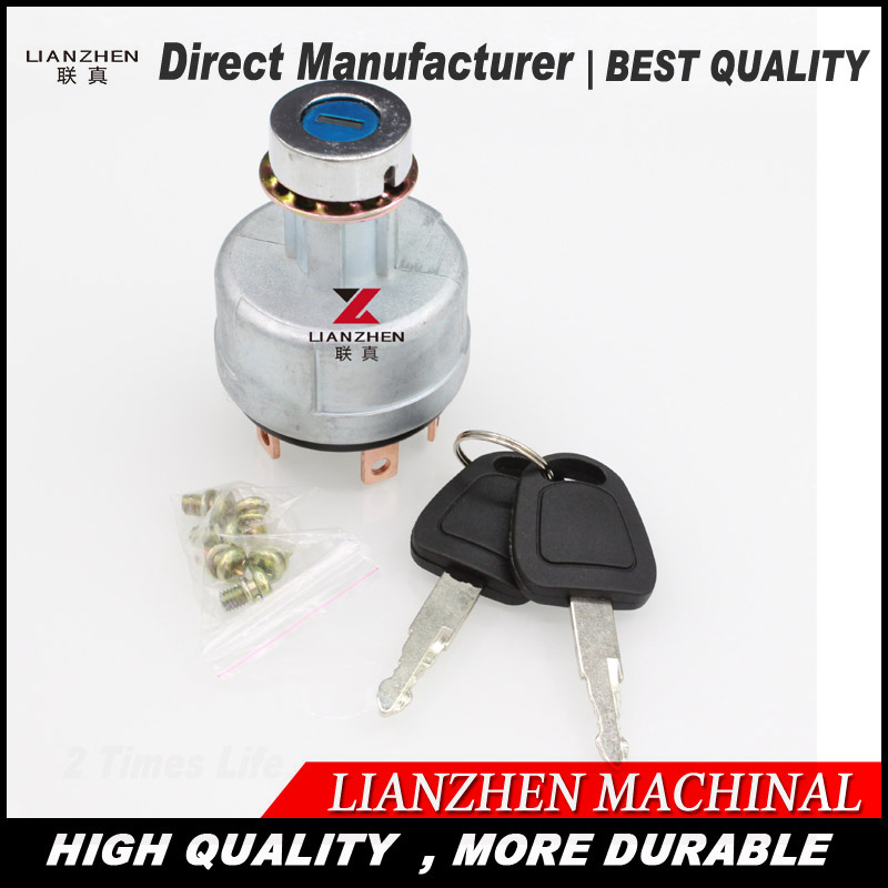 цены Starting switch fire up Ignition switch for Hitachi excavator EX200-1