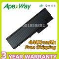 Btp-bca1 apexway 4400 mah 6 celdas de batería portátil para acer aspire 9300 5600 7000 7100 7110 9400 9420 travelmate 4220 5100 5110
