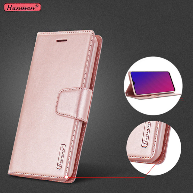 sports shoes ef667 c8f2f US $6.39 |Original Brand Hanman Leather Wallet Flip Cover For OPPO F9  OPPOF9 F9 Pro, CPH1823, CPH1828, CPH1881 Mobile Phone Cases Coque-in Flip  Cases ...