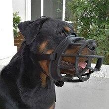 Силиконовая корзина собачий намордник регулируемый и удобный надежная фиксация прочный легкий резиновый собачий намордник остановка кусания безопасная тренировка
