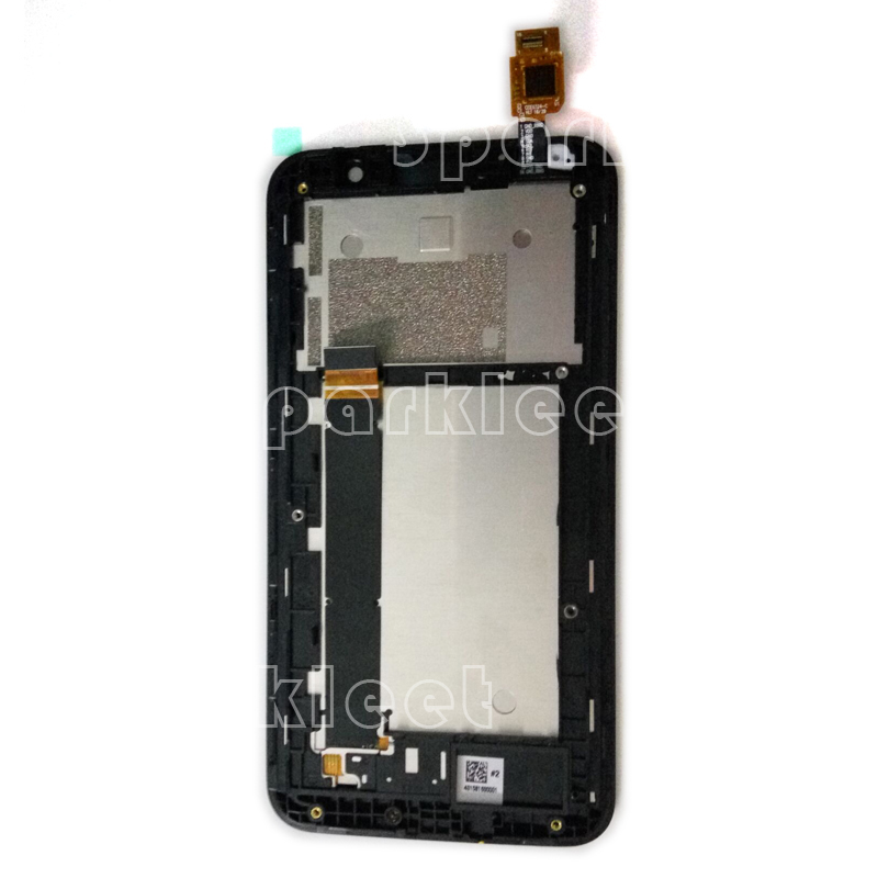 LCD Frame For Asus ZenFone Go TV ZB551KL LCD Display Touch Screen Digitizer Assembly Front Housing