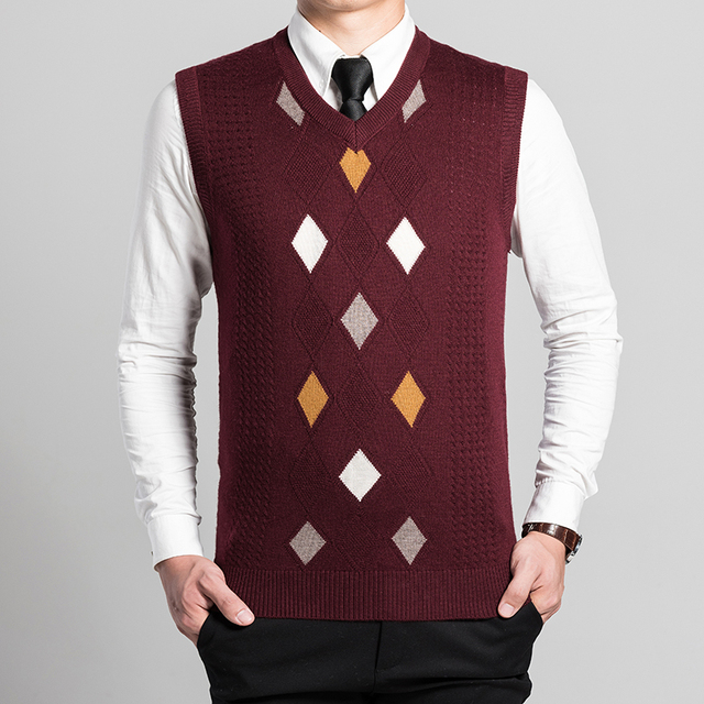 New arrival autumn spring fashion mens argyle knitting patterns ...