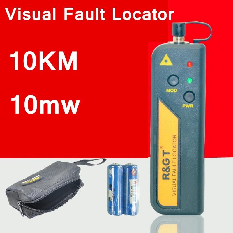 TM-18 10KM 10mW visual fault locator Network optical fiber test pen fiber optic cheker Pen type fiber cable viaual fault finder