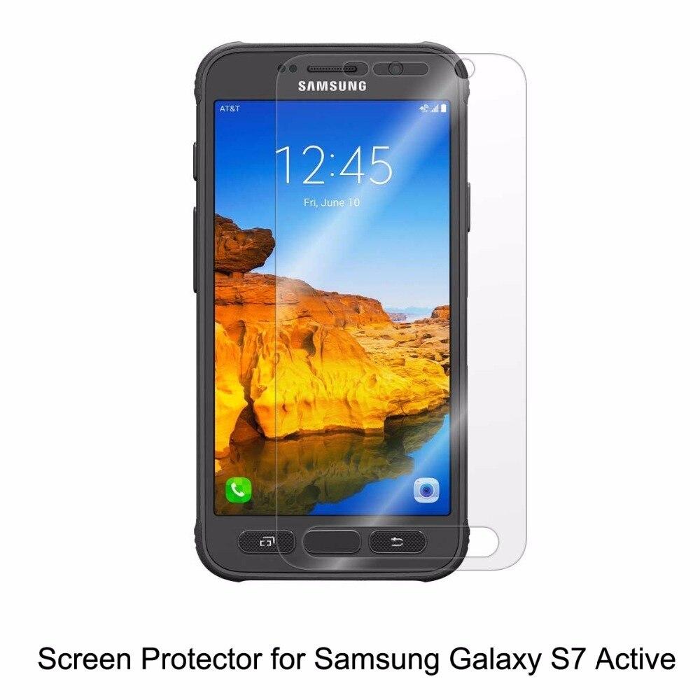 Clear LCD PET Películas anti-Scratch anti-burbuja Touch protector de  pantalla sensible para el teléfono samsung galaxy s7 activo f43aeb3957cde