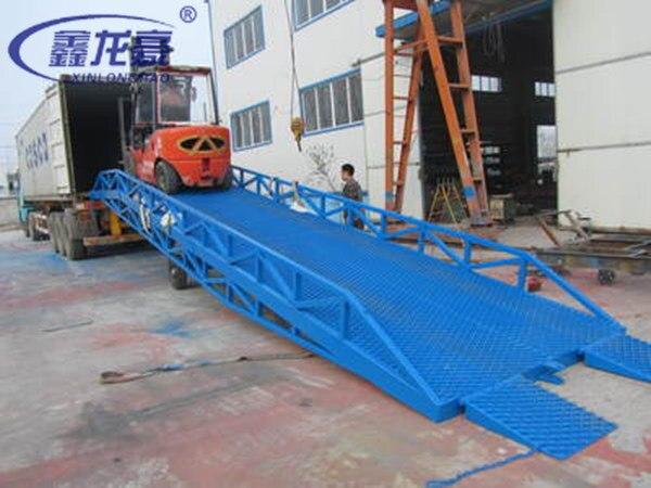 Carrelli elevatori camion contenitore mobile idraulico for Rampe di carico per container