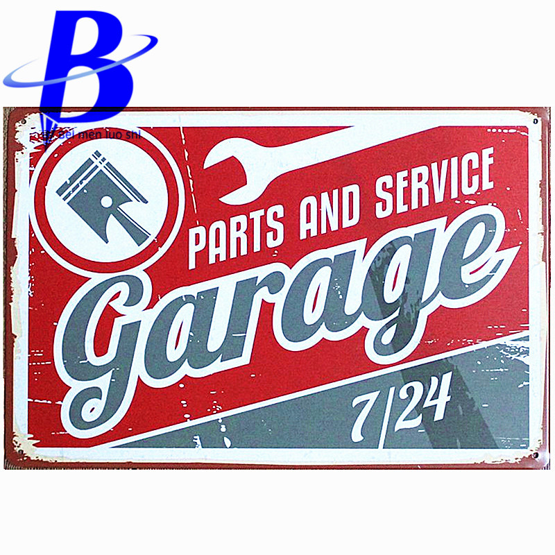 Metal Tin Sign murphy's garage Decor Bar Pub Home Vintage Retro wall sign