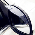 Car Rearview Mirror Rain Blades car back mirror eyebrow rain cover for ford focus 2 3 Hyundai solaris Mazda 2 3 6 CX-5 2Pcs