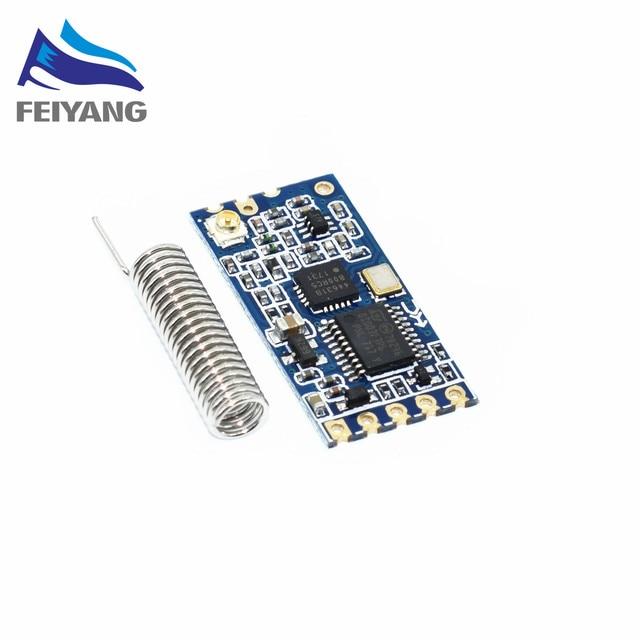 1 stücke 433 Mhz HC-12 SI4463 Drahtlose Serielle Port-modul 1000 mt Ersetzen Bluetooth NEUE