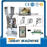 Manual Stand Pouch Filling Machine For Coffee Aluminum Foil Pack