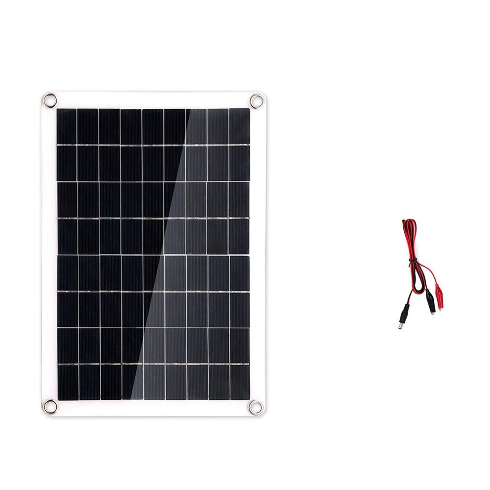 Usb Solar Panel Charger Silicon Soft Battery Generator Lighting System With Controller And Bulb