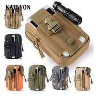 Outdoor Tactical Holster Military Waist Belt Bag Wallet Purse Zipper For Oukitel K6000 Premium K7000 K6000 Pro K10000 U20 Plus