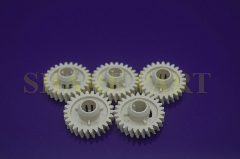 5 X Fuser pressure gear 26T RU7-0139-000 For HP P1606 1102 1102w 1536 M201 M225 1566