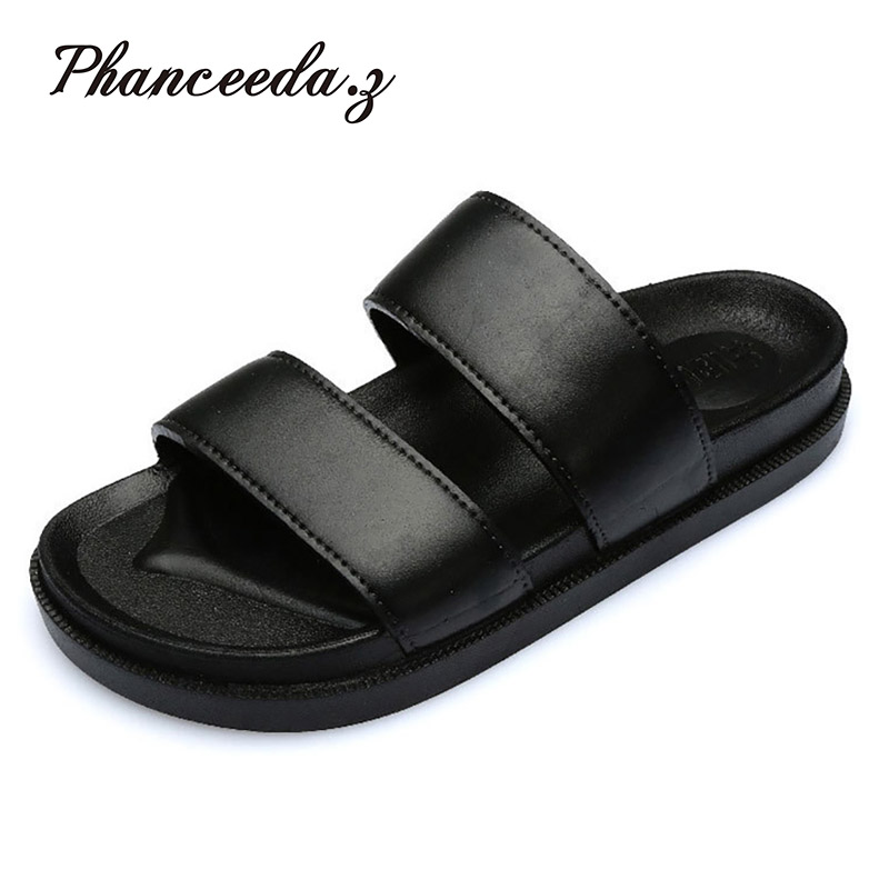 New 2017 Fashion Shoes Women Sandals Summer Flat Shoes Casual Beach Jelly Shoes Buckle Slippers Flats big size 6-11 slippers female summer 2016 new version for casual shoes women flat sandals sweet flowers beach shoes free shipping