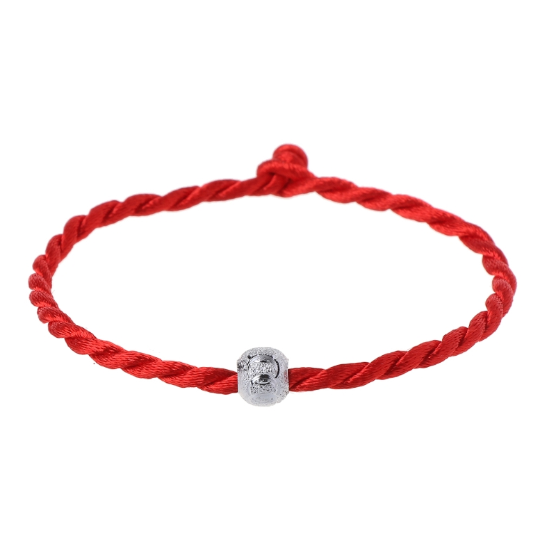 New 1pc Kabbalah Red Rope String Bracelets Lucky Bead Tibetan Buddhist Jewelry Bracelets for Women 2020