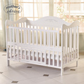 High quality Mother's Choice solid wood baby crib baby cot with trolley Free shipping MCC204
