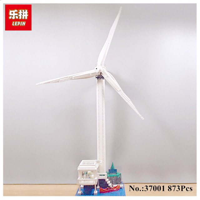 Lepin 37001 Creative Series The Vestas Windmill Turbine Set Children Educational Building Blocks Bricks Toys Model Gifts 4999 lepin 37001 creative series the vestas windmill turbine set children educationl building blocks bricks toys model legoing 4999