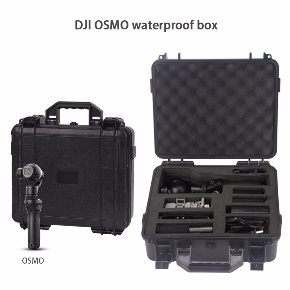 RCYAGO DJI OSMO Case Storage Suitcase Waterproof Box Handheld Gimbal  Package OSMO Mobile Carrying Case Fro DJI OSMO Accessories rcyago safety shipping travel hardshell case suitcase for dji goggles vr glasses storage bag box for dji spark drone accessories