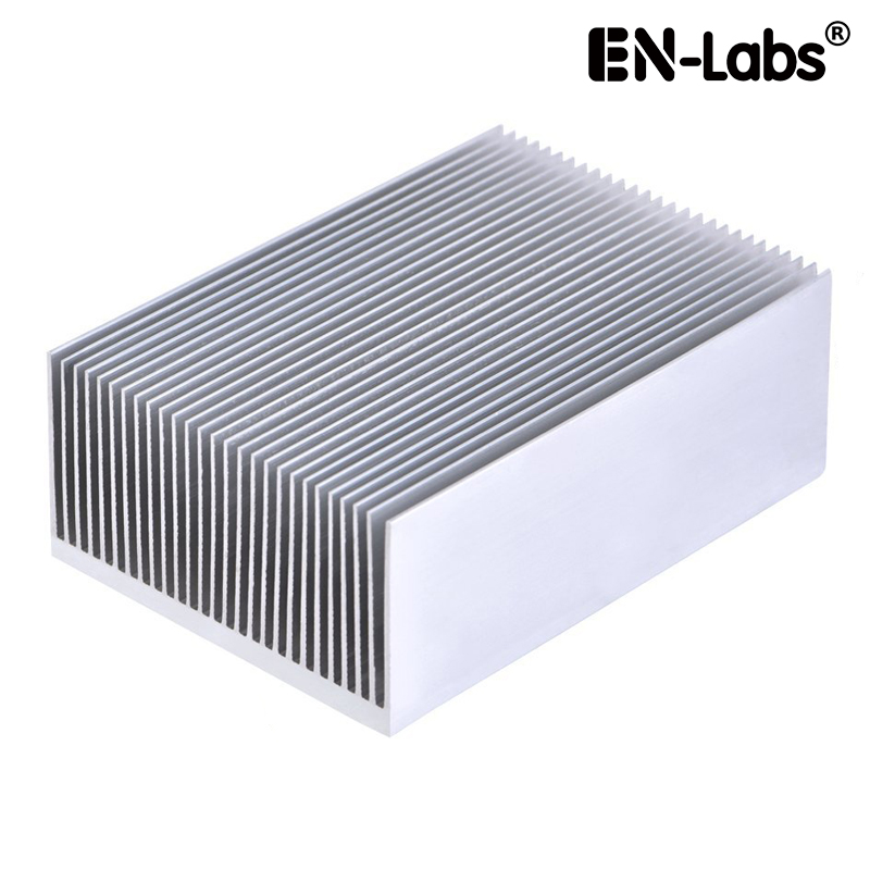 En-Labs Aluminum Heat Sink Heatsink Module Cooler Fin for High Power Led Amplifier Transistor Semiconductor 69*36*100-500mm mooncase чехол для alcatel one touch поп с3 флип pu держатель карты стенд кожаный чехол обложка feature no a12