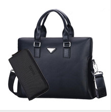 In 2016 the new male steamed stuffed bun female bag Men's handbags business package one shoulder inclined across his briefcase
