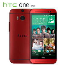 "Original HTC One M8 Mobile Phone Quad Core 5"" 3 Cameras 2G RAM 16G/32G ROM Refurbished WCDMA Smartphone"