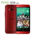 """Original htc one m8 teléfono móvil quad core 5 """"3 cámaras 2g ram 16g/32g rom reformado wcdma smartphone"""