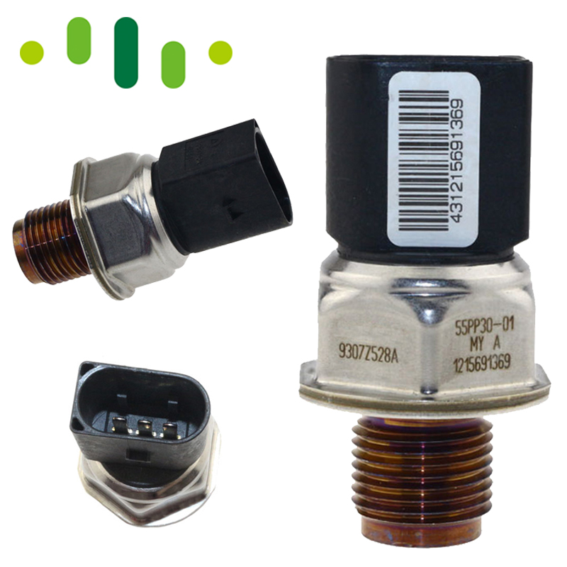 Genuine Diesel Fuel Rail Pressure Sensor CZUJNIK 9307Z528A 55PP30 01 For Hyundai I30 1.4 Chevrolet Cruze J300 2.0 CDI 1215691369