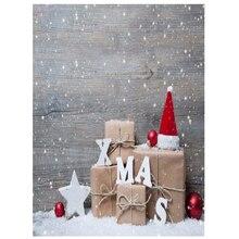 3x5FT винил фон фотографии стены фото Задний план Новогодние товары hat