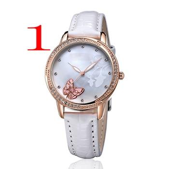 Часы лучший бренд роскошные кожаные Для женщин часы Повседневное Спорт мужской часы Relogio