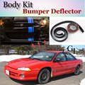 Бампер для губ  дефлектор для губ Dodge Intrepid  передний спойлер  юбка для TG Friends to Car  тюнинг View/Body Kit/полоска